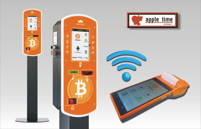 apple time Wallomat Lagerstrasse 1, A-5082 Grödig Tel. 0043-664-1563186 E-Mail: office@apple-time.at apple time Wallomat, bitcoinautomat, wertkartenautomat von apple time, Wallomat Wechselautomat von Firma apple time